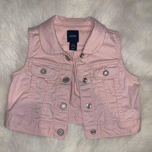 Baby gap - baby girl denim vest